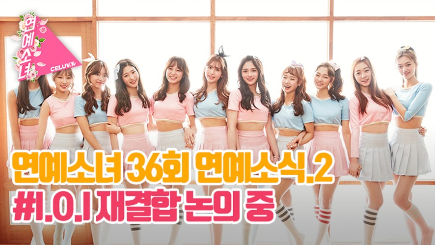 [ENG SUB/연예소녀] EP36. 소녀의 연예소식2 - I.O.I 재결합 논의 중 (Celuv.TV)