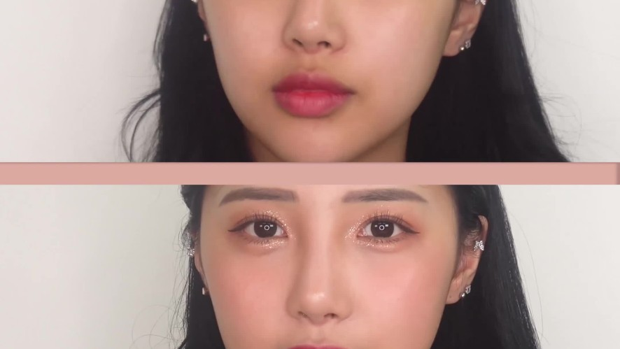 [1분 뷰티팁] 코높아보이는화장법 :: 성형의심 받을 수 있으니 조심 (੭*ˊᵕˋ)੭ Makeup that makes your nose look higher