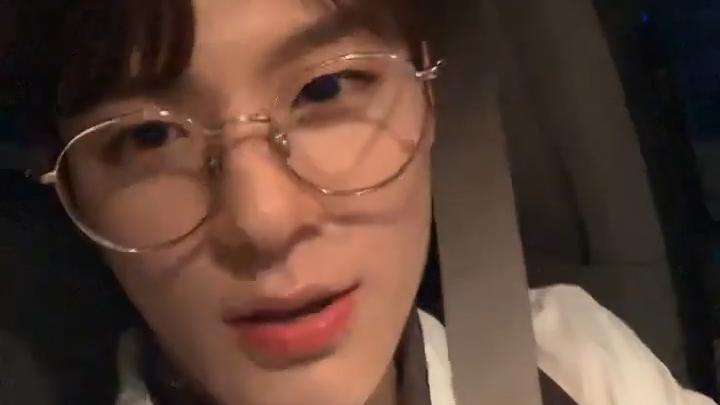 [NCT] 안경젠 국립박물관 특별전시감 아닙니까🧐💚 (JENO's V in the car)