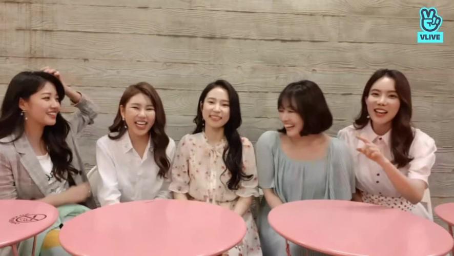 '미스트롯 최종 5인' 브이앱 채널 오픈 기념!