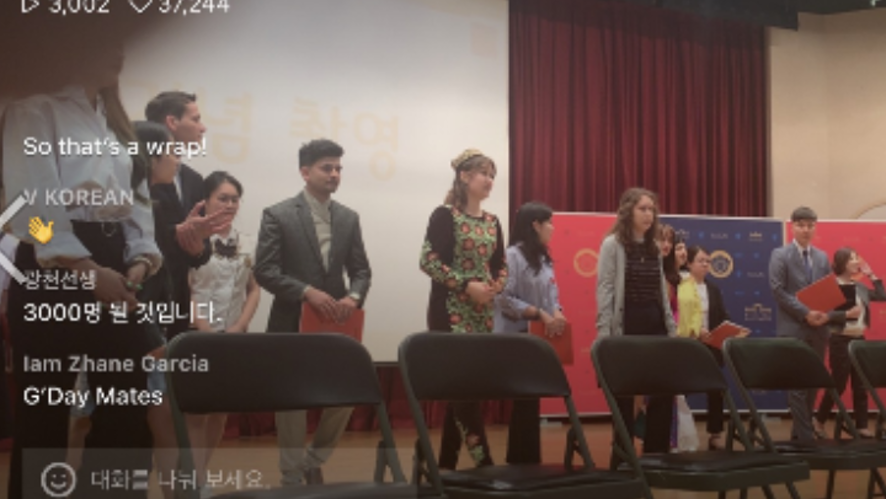 [Contest]World Korean Language Speech Contest for Foreigners in Kyunghee Univ.