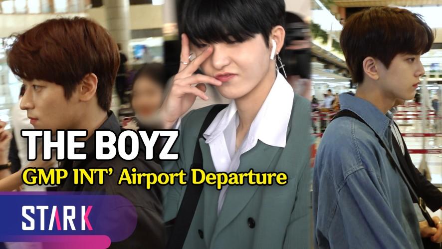 더보이즈, 함께 있어 즐거운 출국길 (The Boyz, 20190516_GMP INT' Airport Departure)