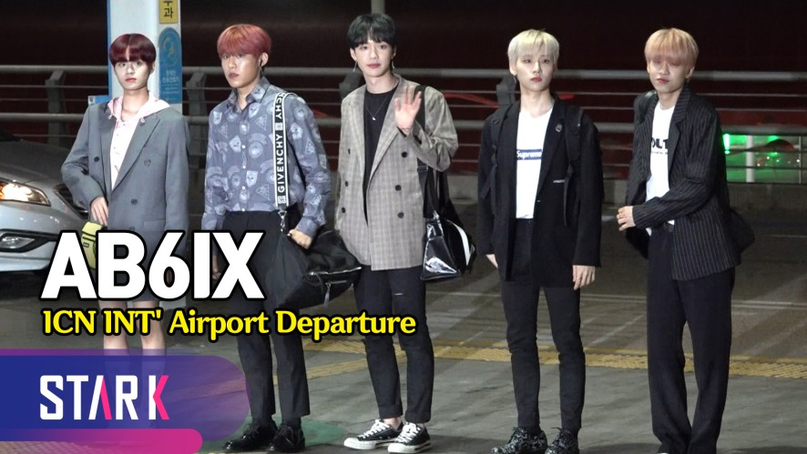 AB6IX 출국, 완전체 데뷔 앞두고 KCON 참석차 일본으로! (AB6IX, 20190516_ICN INT' Airport Departure)