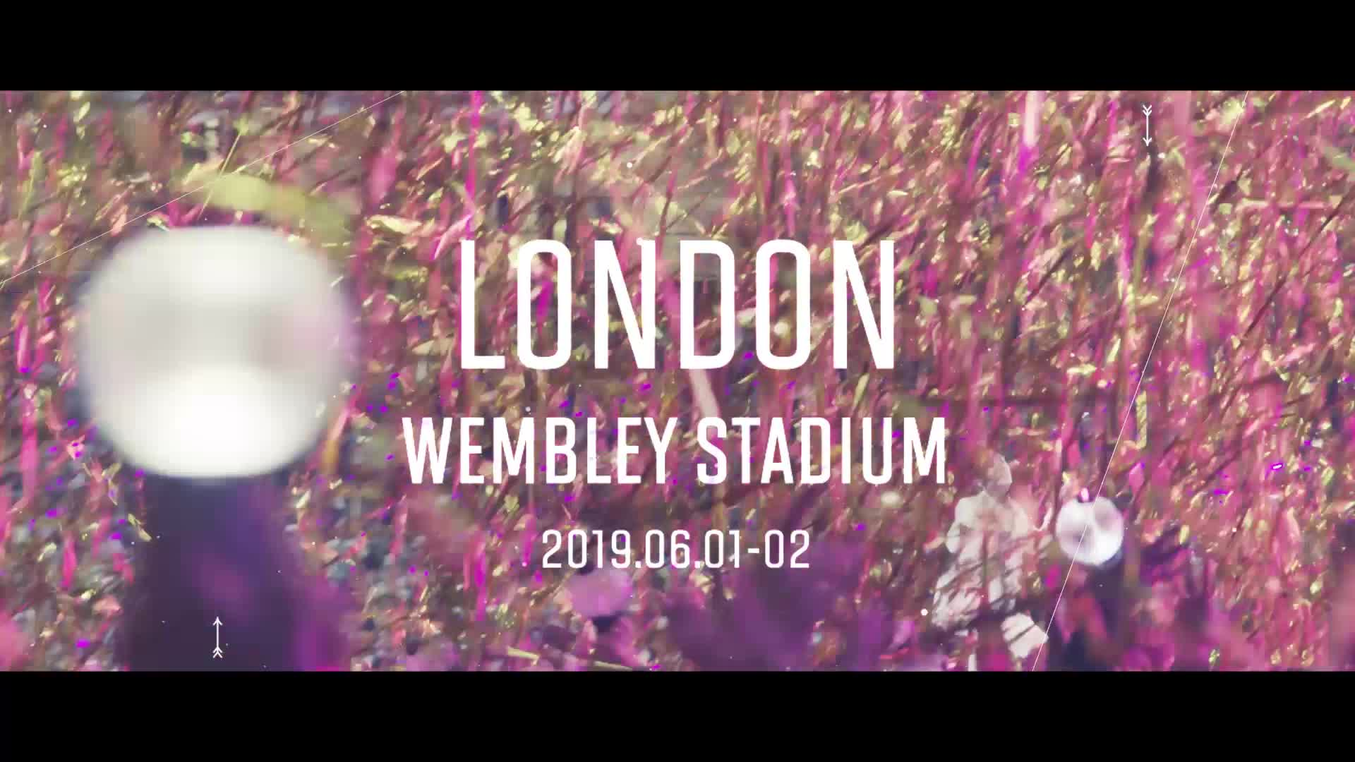[D-10] BTS WORLD TOUR 'LOVE YOURSELF: SPEAK YOURSELF' in Wembley Stadium Live Streaming at V LIVE+!