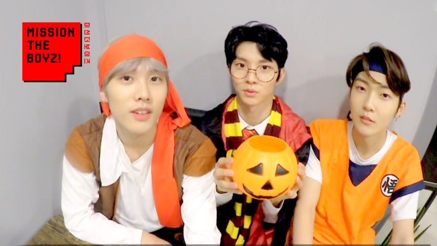 [MISSION THE BOYZ] Halloween SP