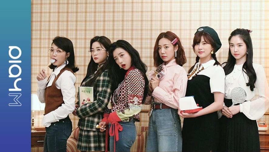 Apink Mini Diary - 오늘도 평화로운 촬영날~