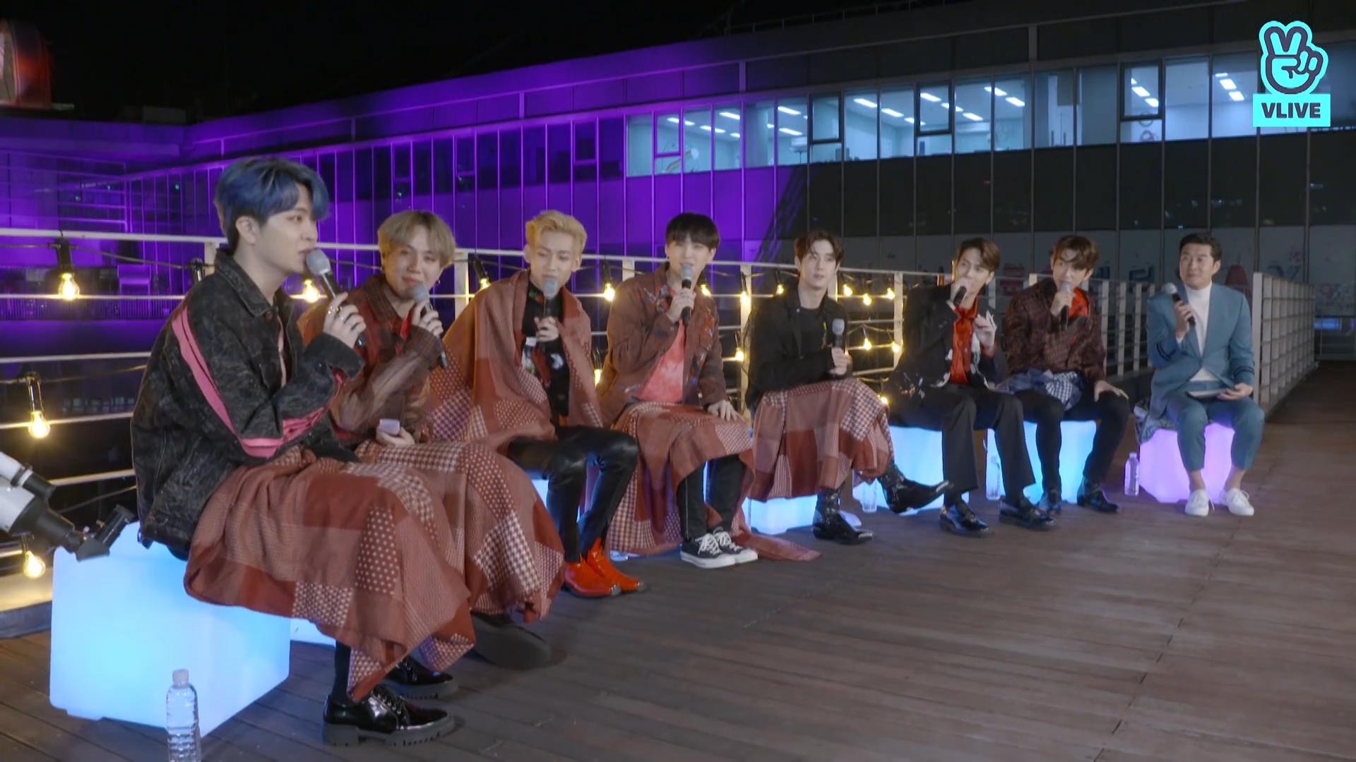 [GOT7] 덩어리들 컴백에 신나서 돌아버린 내가 바로 스피닝탑이더라구요💚🎉 (GOT7's comeback live talk)