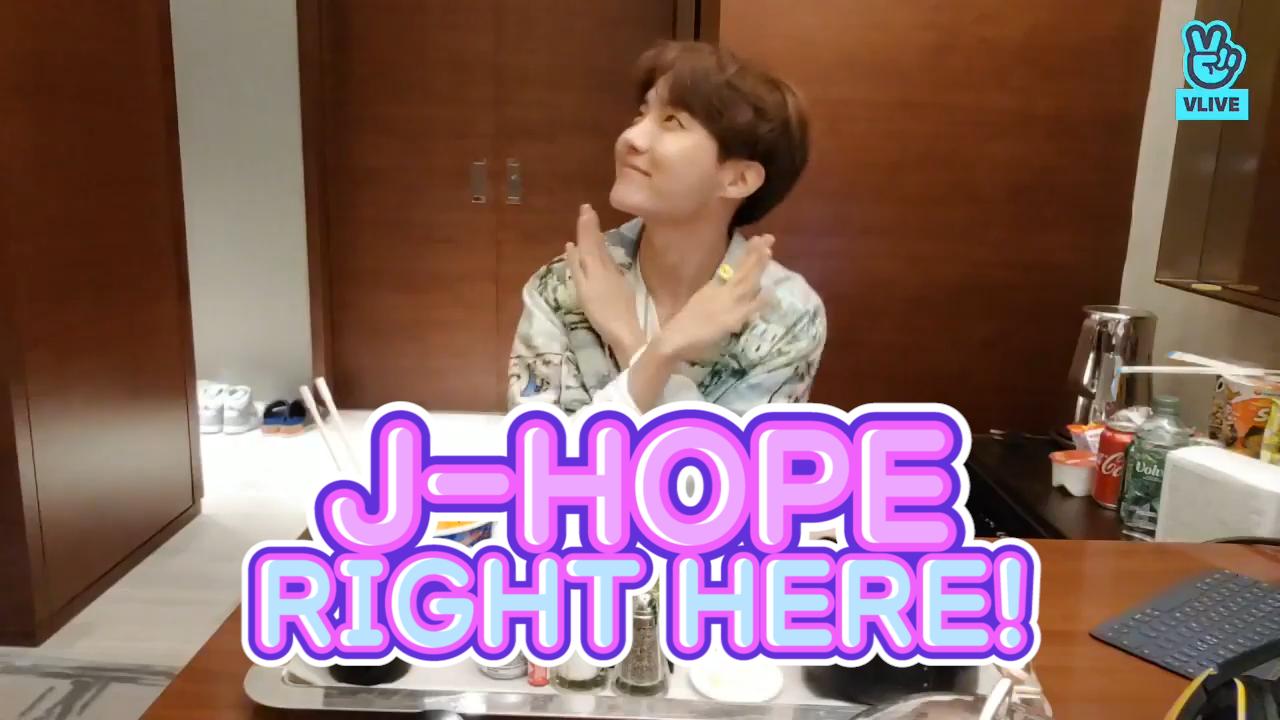 [BTS] 다램쥐가 다램쥐 귀엽다고하는데 진짜 오늘 정호비 귀여움 한도초과요🐿(J-Hope's eating show)