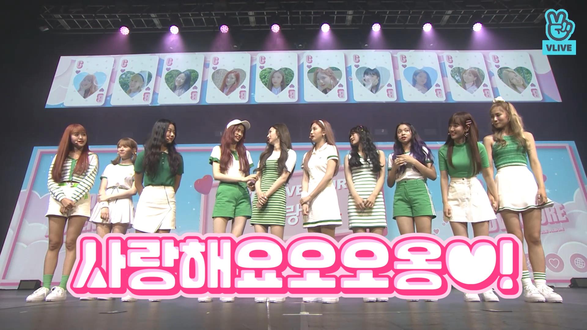 [Cherry Bullet] 공기중 사랑농도 190121% 체렛이들의 사랑해게임🍒💕 (Cherry Bullet's comeback showcase)