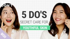 5 Secrets for Youthful Skin to Look 5 Years Younger (ft. Beauty Within)  Do & Don't