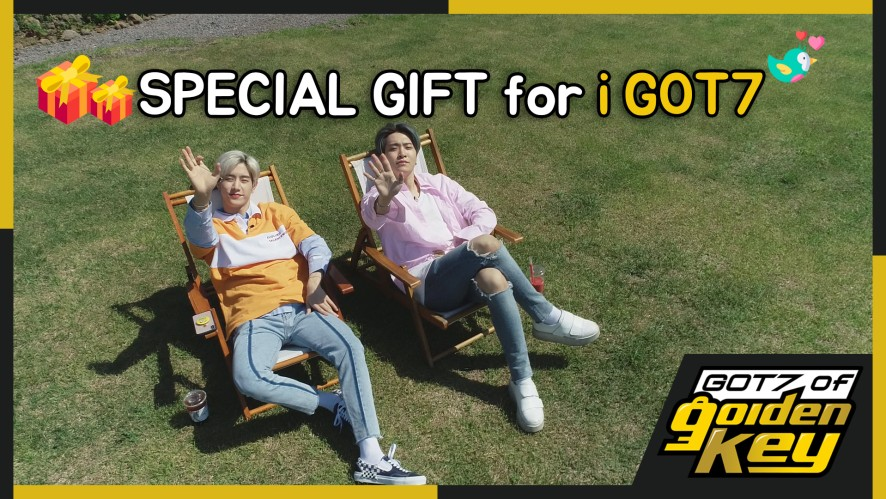 [GOT7 of Golden Key] Special gift for iGOT7 (아가새를 위해 제주도로 떠난 갓세븐)