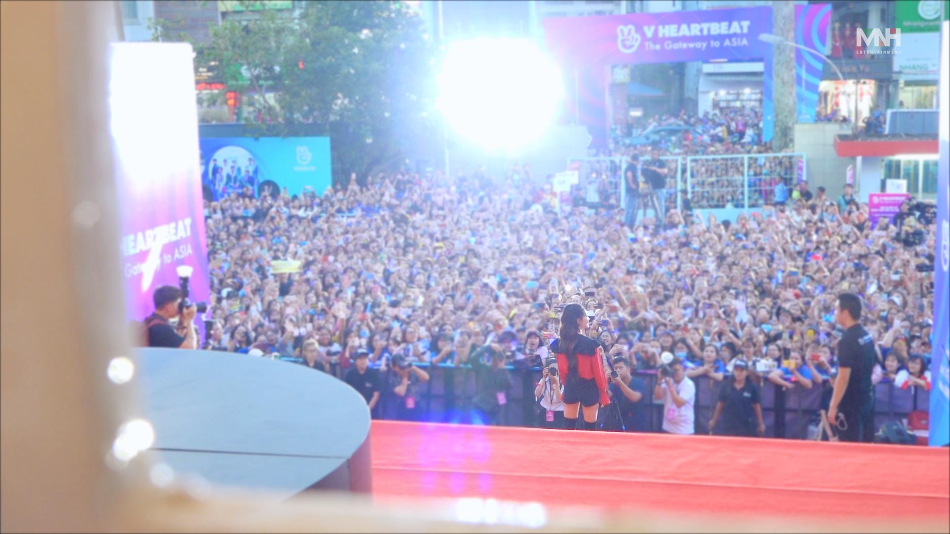 [Special Clips] 청하 베트남 'V HEARTBEAT LIVE' 비하인드