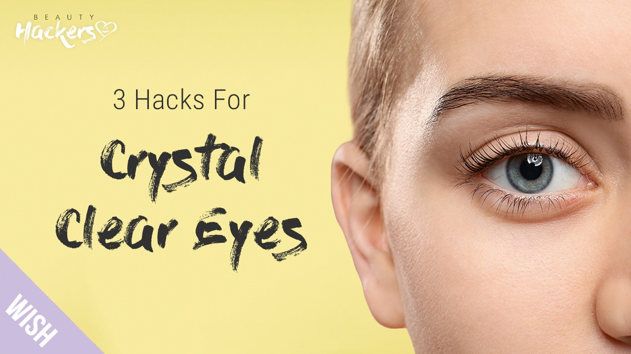 3 Hacks For Clear White in the Eyes l Sparkling White Eyes, DIY Heated Eye Pads