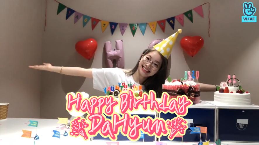 [TWICE] 따라다란따란~🎶 둡재즈페스티벌에서 열리는 대유잼 생파현장!!!(ft.아리)🎉🎁 (HAPPY DAHYUN DAY+1)