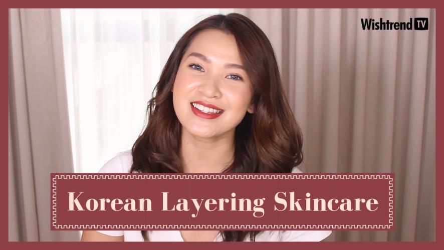 Layering Skincare Kiểu Hàn Quốc