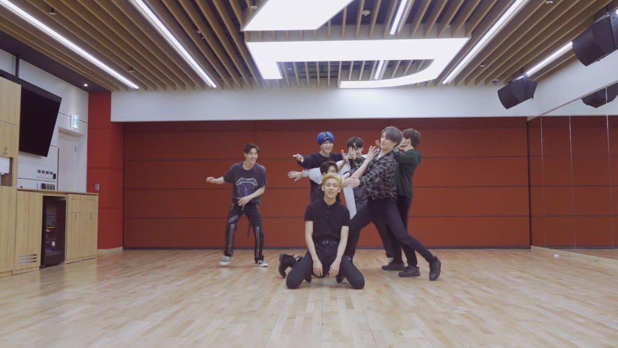 "GOT7(갓세븐) ""ECLIPSE"" Dance Practice (Part Switch Ver.)"