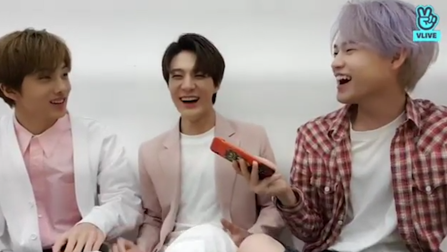 [NCT] 잠깐‼️ 상큼충전 핑크 드리미들 보고가시죠‼️ (JISUNG&CHENLE&JENO talking with fans)