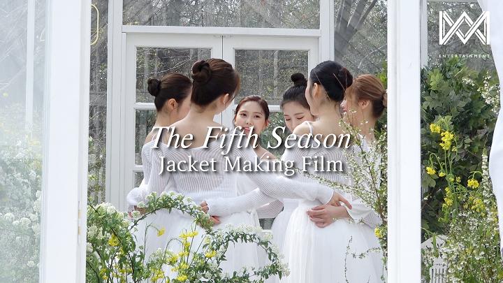 오마이걸(OH MY GIRL)_1st Album [The fifth season] Jacket Making Film