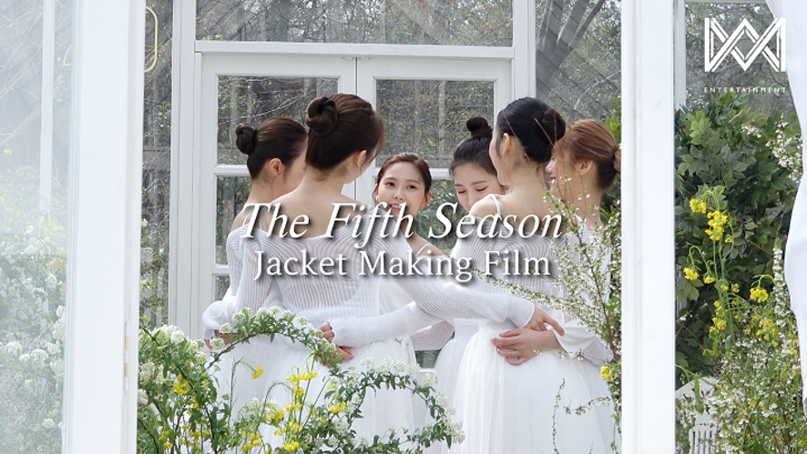 오마이걸(OH MY GIRL)_1st Album [The fifth season] Jacket Making Film