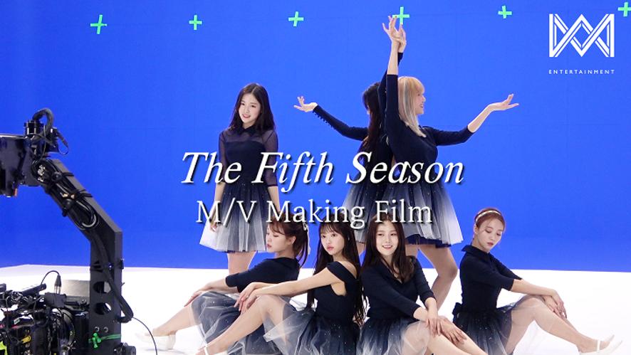 오마이걸(OH MY GIRL)_1st Album [The fifth season] MV Making Film