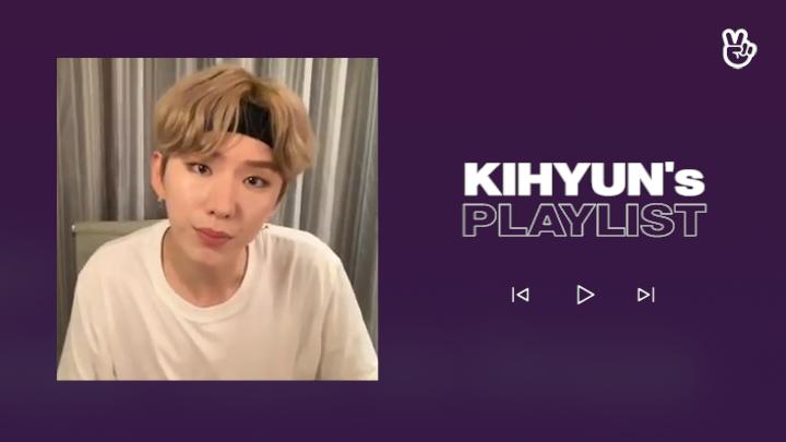 [V PICK! Playlist] MONSTA X KIHYUN's Play List🐹🎶