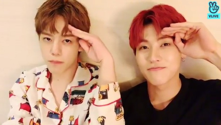 [N.Flying] 캐릭터잠옷보다 더 귀여운 사람들.. 그게 바로 엔플라잉이라고.. (SeungHyub&Hun talking about Hun's pajamas)