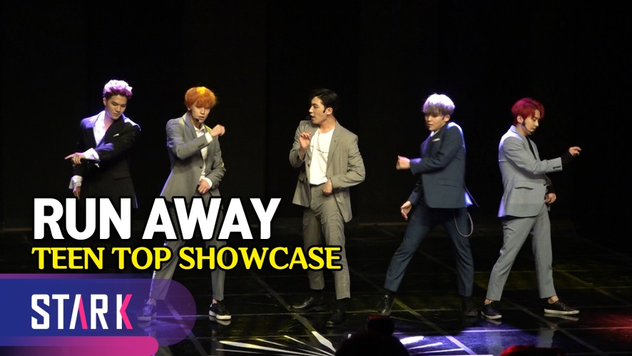 어른 섹시로 돌아온 틴탑(TEEN TOP), 타이틀곡 'RUN AWAY' (TEEN TOP SHOWCASE, Title Song 'Run Away')