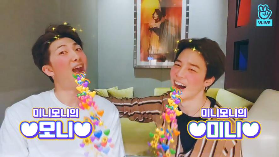 [BTS] 미니모니 마니마니마니 사랑하니까 나는 마니야! 미니모니 진짜 마니 사랑해💜(RM&JIMIN talking about their episode)