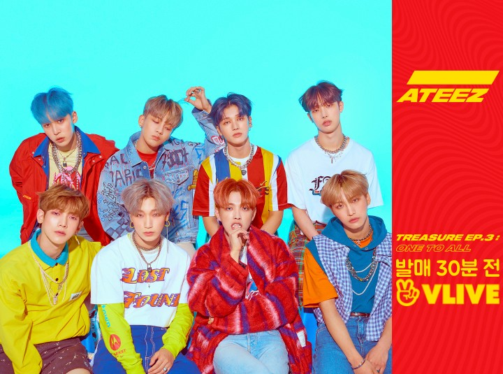 두근두근❤ ATEEZ TREASURE EP.3 : One To All 발매 30분 전
