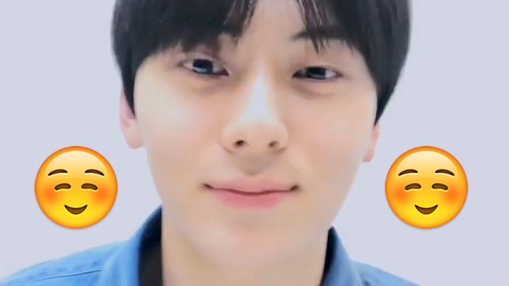 [NU'EST] 민현이와 함께 하는 고막대청소날☺️ (Minhyun singing songs and calling members)