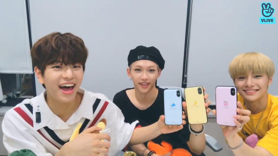 [Stray Kids] 슼둥이들은 용이야 쏘큐티해용🖤 (Stray Kids talking about FELIX's ASMR&their phone case)