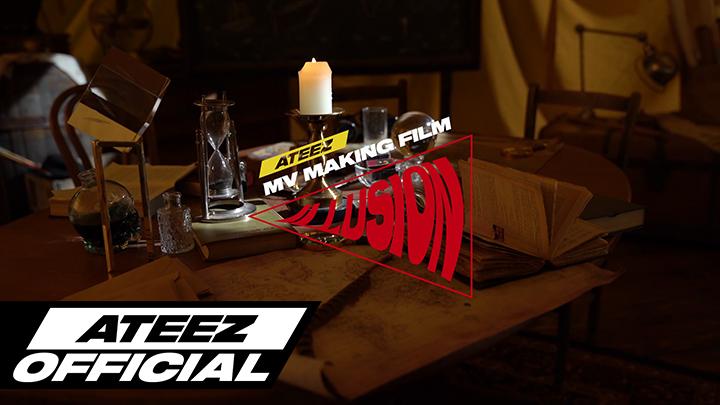 ATEEZ(에이티즈) - 'ILLUSION' Official MV Making Film