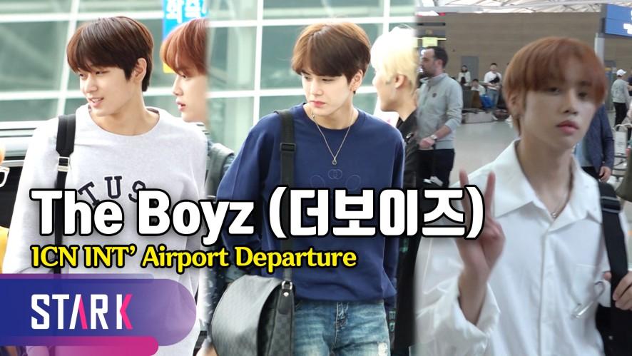 더보이즈 출국, '훈남' 선배 룩♡ (The Boyz, 20190614_ICN INT' Airport Departure)