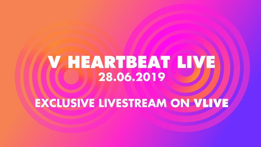 V LIVE - V HEARTBEAT LIVE JUNE 2019