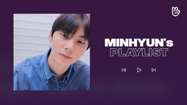 [V PICK! Playlist] NU'EST MINHYUN's Play List☺️🎶