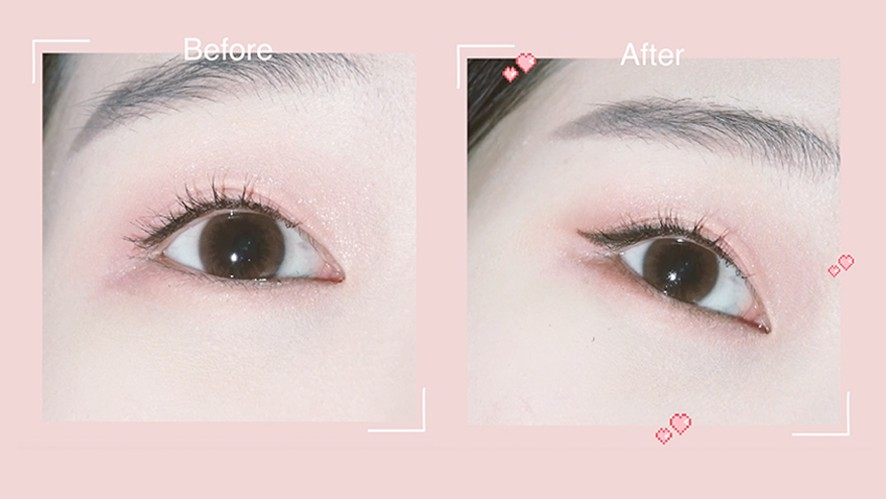 How to draw winged eyes