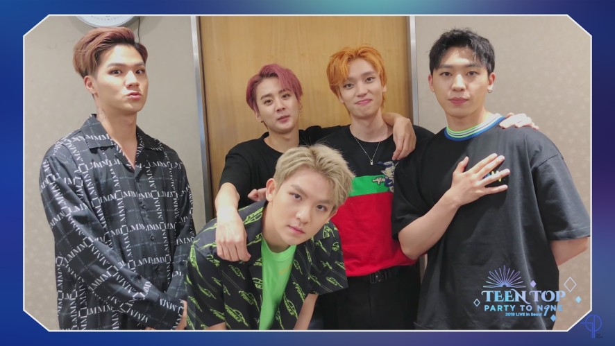 [TEEN TOP PARTY TO.N9NE] Message