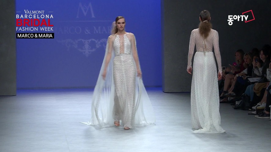 [2019 Barcelona Bridal Week] MARCO & MARIA