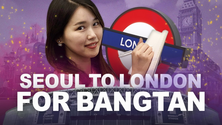 From Seoul to London to meet BTS at Wembley🎤💜