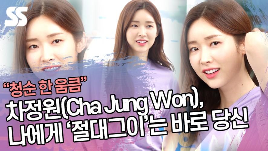 차정원(Cha Jung Won), 나에게 '절대그이'는 바로 당신 (인천공항)