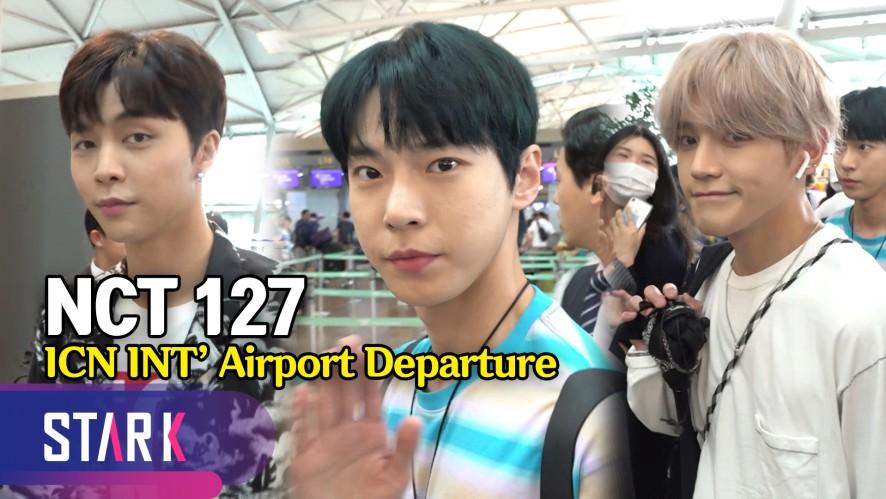 NCT 127, 보정이 필요 없는 비주얼 (NCT 127, 20190619_ICN INT' Airport Departure)
