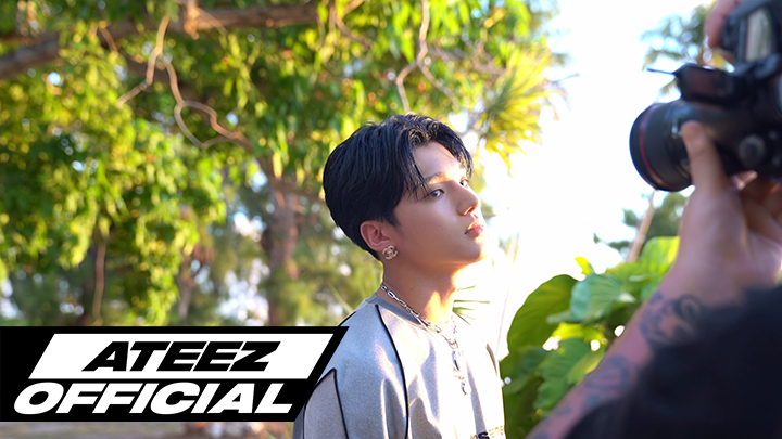 [ATEEZ] THE RECORD_EP 11. 3rd EP WAVE Photo Shoot Behind