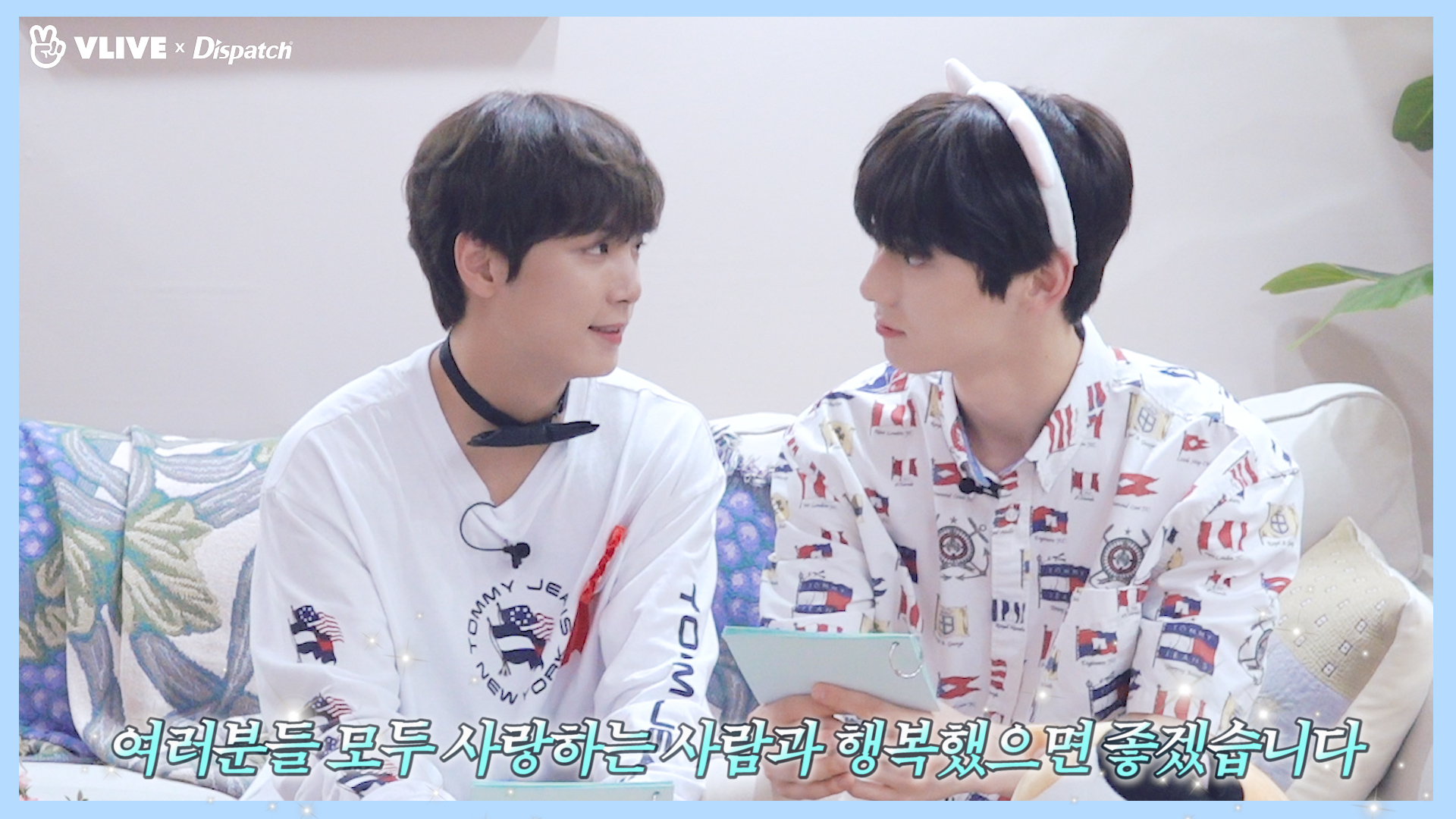 "[ⓓxV] ""웰컴 투! 부기즈의 힐링 타임 ②"" (JR,민현: NU'EST)"