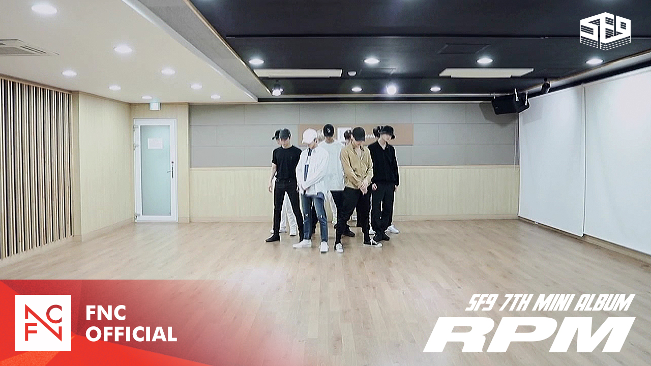 SF9 - RPM Dance Practice Video (Fix Ver.)