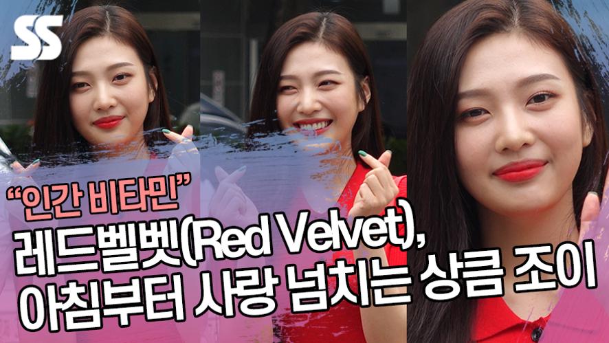 레드벨벳(Red Velvet), 아침부터 사랑 넘치는 상큼 조이 (뮤직뱅크 출근길)