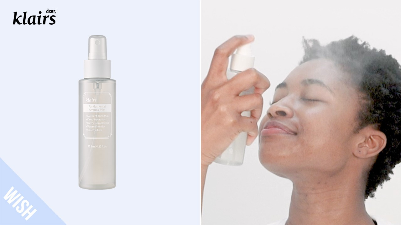 How to Use Face Mist (Combination Skin) | KLAIRS Fundamental Ampule Mist