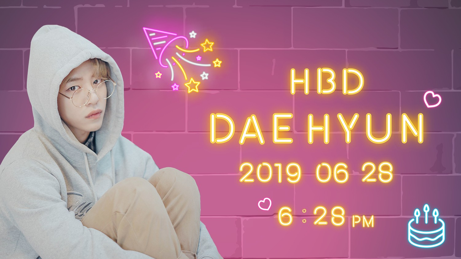 [정대현] Happy DAEHYUN Day!!♡