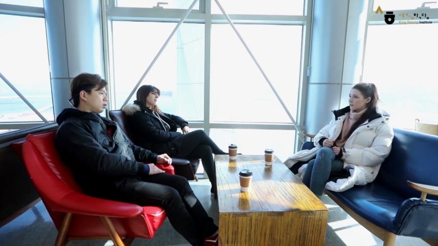 #5.I overslept and was late for work(1) : [Sejong Korean Conversation intermediate2]_Sejong Hakdang