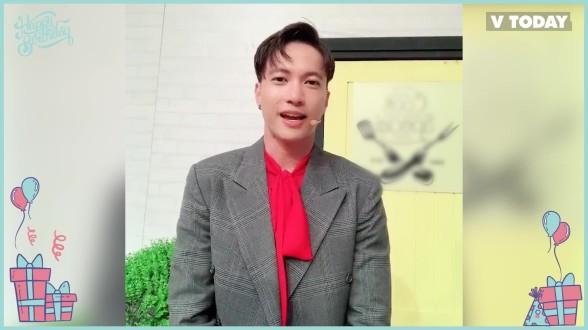 S.T Sơn Thạch chúc mừng sinh nhật V Today 1 tuổi