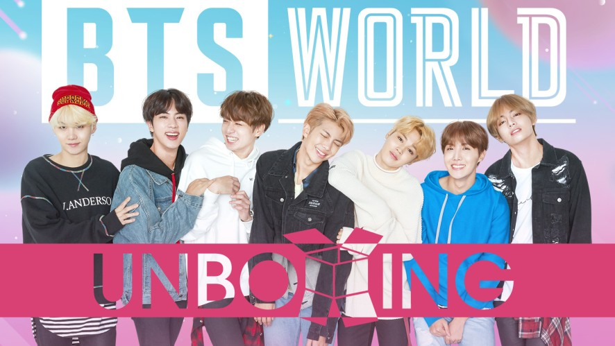 UNBOXING: BTS WORLD
